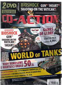 CD Action 9/2015 2 x Dvd BIOSHOCK GUN PL 1HEARTH SHADOWS ON THE VATICAN - <span itemprop='availableAtOrFrom'>Poznan, Polska</span> - CD Action 9/2015 2 x Dvd BIOSHOCK GUN PL 1HEARTH SHADOWS ON THE VATICAN - Poznan, Polska