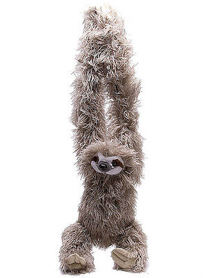 Hanging Three Toed Sloth   By Wild Republic   26    Brand New    16387