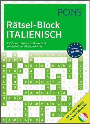 Land Italienisch (NEU: PONS Rätsel-Block ITALIENISCH lernen - Grammatik, Wortschatz, Landeskunde)