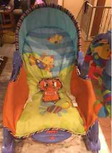 FISHER PRICE INFANT-TO-TODDLER PORTABLE ROCKER!! Peterborough Peterborough Area image 8