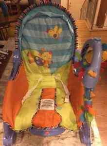 FISHER PRICE INFANT-TO-TODDLER PORTABLE ROCKER!! Peterborough Peterborough Area image 6