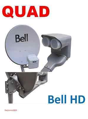 "BRAND NEW DPP Quad Dish 500 Bell ExpressVu 20"" DPP Quad LNB for sale  North York"