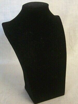 Store Display Fixtures Contoured Necklace Bust Jewelry Display 10 Tall X 6.5 W