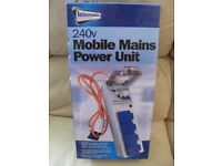 Mobile mains power hook up unit (NEW)