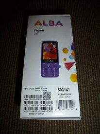 Sim Free Alba 2.8 inch Mobile Phone - Purple