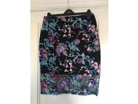 Beautiful embroidered Lipsy Skirt - size 14