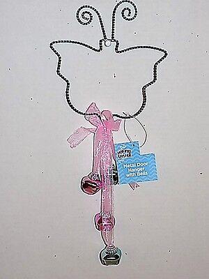 Pastel Spring Easter Dangling Bell Door Hanger-Assorted Colors - Halloween Coloring Door Hangers