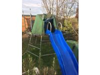 TP climbing frame with monkey bars and slide