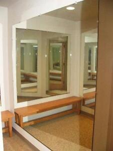 Mirror Wall 12ft x 6ft at $299.00. Very low shipping rate