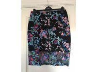 Beautiful embroidered Lipsy Skirt - size 14