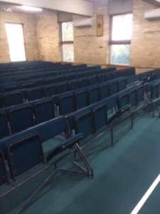 Rows metal framed seating. Cootamundra Cootamundra Area Preview