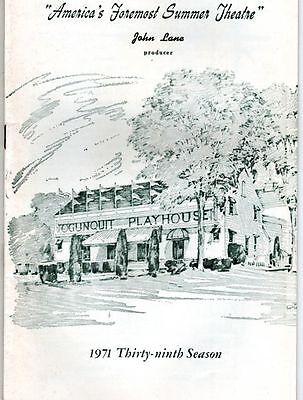 "Ogunquit Playhouse Playbill 1971 ""Fiddler on the Roof"" Mike Kellin"