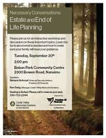 Necessary Conversations: Estate & End of Life Planning workshop