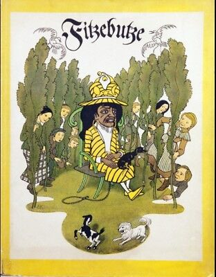 Fitzebutze, Kinder-Bilderbuch-Klassiker, Faksimile von 1976, Insel-Verlag, Gebun