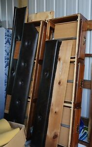 queen box bed frame
