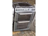 GREY BELLING 60cm ELECTRIC COOKER ,EXCELLENT CONDITION, 4 MONTHS WARRANTY