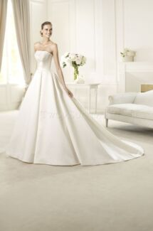 Pronovias Ulloa Strapless Wedding Dress Size 12 Waverton North Sydney Area Preview