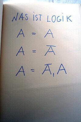 A.R. PENCK: Ich/Standart-Literatur, 1971, Editions Agentzia, Paris, limitiert