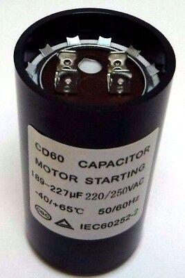 - Motor Start Capacitor Round 189-227 uF MFD 220V 250V 220-250V VAC 46x86mm CD60