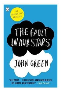 The Fault in Our Stars by John Green Paperback Book Contemporary Fiction Novel