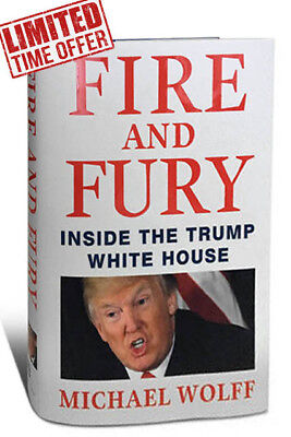 Fire And Fury   Inside The Trump White House By Michael Wolff Hardcover 2018