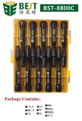BEST-8800C Screwdriver Repair Tool Kit for Mobile Tablet iPhone Laptop 10in1