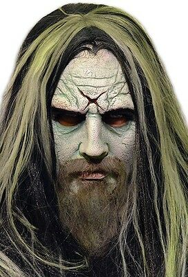 Trick or Treat Rob Zombie White Zombie Metal Halloween Costume Mask JMGM100