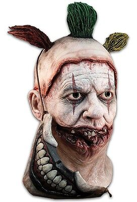 Trick or Treat Horror Story Twisty The Clown Halloween Costume Mask - Halloween Mask History