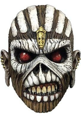 os Iron Maiden Eddie The Book Of Souls Maske Kostüm Ttgm110 (Trick Or Treat Kostüm)