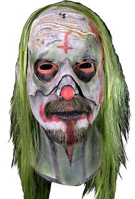 Trick Or Treat Studios Rob Zombie's 31 Psycho Head Halloween Mask Music CDRZ100