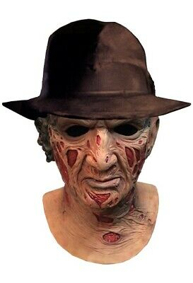 Freddy Krueger Fedora Hat (A Nightmare On Elm Street: Deluxe Freddy Krueger Mask & Fedora Hat **Pre)