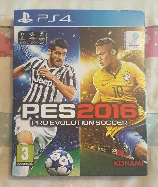 Pro Evolution Soccer 2016 PS4in Newton Aycliffe, County DurhamGumtree - PES 2016 for sale for PS4Immaculate condition in original sleeve with paper game instructions still inside.£10 ono