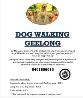 Dog Walking Geelong