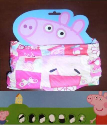 Peppa Pig cuffia cappello scalda collo multiuso...