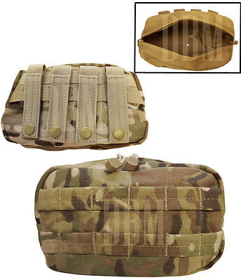 Multicam Molle Tactical Utility Accessories Pouch For Vest Carrying Backpack Bag
