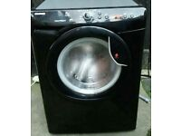 BLACK HOOVER VTS 714 D21B 7KG 1400 SPIN SLIMLINE WASHING MACHINE