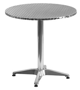 RESTAURANT ALUMINUM OUTDOOR DINING CHAIR DINING TABLE