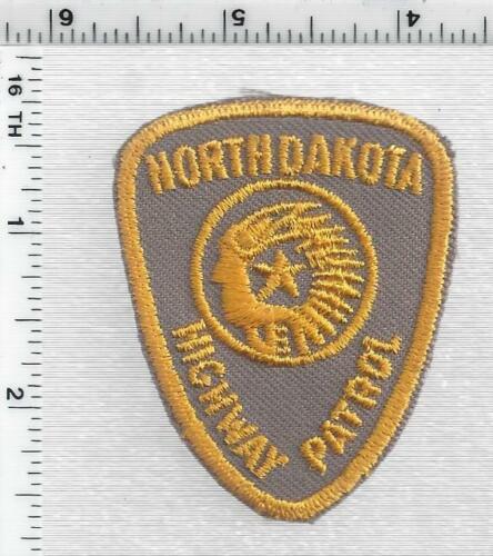 Highway Patrol (North Dakota) 2nd Issue Uniform Take-Off Cap/Hat Patch
