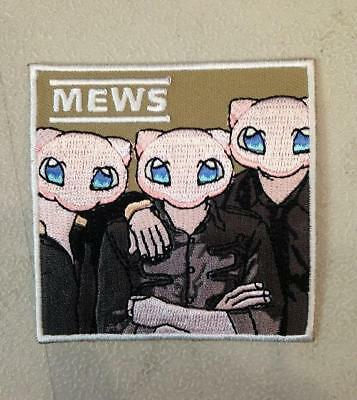 MEWS EMBROIDERED IRON ON PATCH BY TOXIC TOAST RECORDS