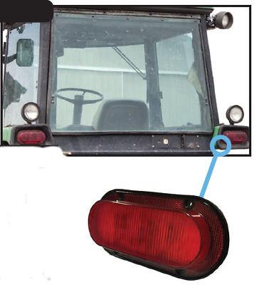 John Deere 2040-8050 Series Tractor Light Led Red Oval Rear Tail Light 2774