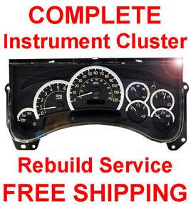 HUMMER H2 Speedometer Instrument Cluster Gauge and Display REPAIR