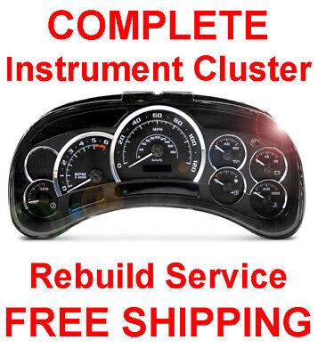 2002-2006 Cadillac Escalade Speedometer Instrument Gauge Cluster Panel REPAIR