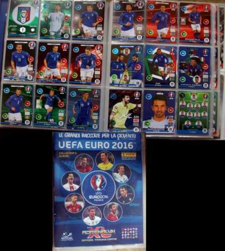 Set completo 459 card euro 2016 adrenalyn