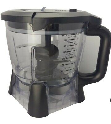 Ninja 64 oz Blender Food Processor Wheel and Lid (New Without Box)