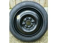 Yaris spare wheel (steel wheel ) with tyre excellent condition like the new.