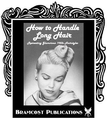 1950s Hairstyle Book by Ingerid (Vintage Hairstyling) - 1950's Hairstyles