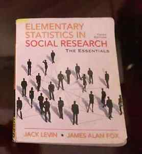 Elementary Statistics in Social Research, Third edition, by Jack