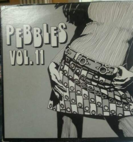 PEBBLES VOL. 11 AIP LP 10001 rare garage punk