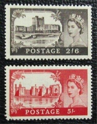 nystamps Great Britain Stamp # 309, 310 Mint OG NH $45   L16x1778