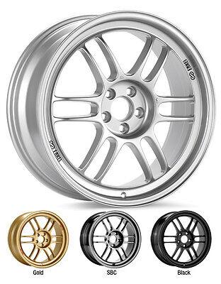 "ENKEI RPF1 16x7"" Racing Wheel Wheels 4x100 4x114.3 ET35/43 F1 Silver"